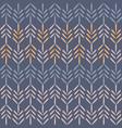 purple woodland chevron seamless pattern vector image vector image