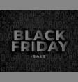 sale banner design for black friday vector image vector image