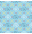 seamless pattern with colorful seashells vector image vector image