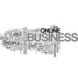 what type of home based business will you choose vector image vector image