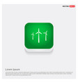 windturbines icon vector image
