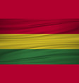 bolivia flag bolivia flag blowig in the wind eps vector image