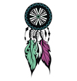 Dream Catcher Protection vector image