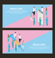 medical peope health vector image vector image