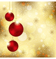 Sparkling Christmas Crystal Ball vector image vector image