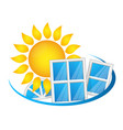 windows to save heat vector image
