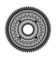 ancient greek round mandala art wheels vector image vector image