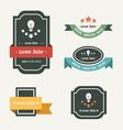 Banner And Ribbon Design vector image vector image