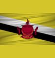 brunei darussalam flag brunei darussalam flag vector image