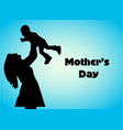 happy mothers day design concept greeting card vector image vector image