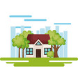 house save the world icon vector image