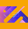 multicolored background with lines vector image