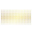 retort gold halftone effect vector image vector image