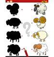 Shadow task with farm animals