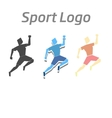 Sport logo athletic vector image
