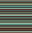 Retro seamless stripe pattern vintage colors vector image