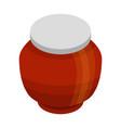autumn jar icon isometric style vector image