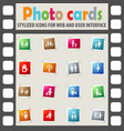 family icon set vector image vector image