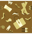 fashionable accessories vector image