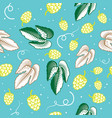 hop seamless pattern ornamental background for vector image vector image