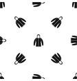 sweatshirt pattern seamless black vector image vector image