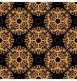 Vintage seamless pattern on dark background vector image vector image
