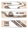 Tires design vector image