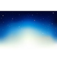 night sky scene vector image