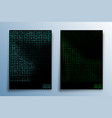 abstract matrix effect design for background vector image