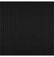 Black metallic mesh vector image