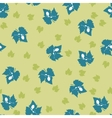 Grape leaf pattern vector image vector image