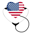 medicine usa vector image vector image