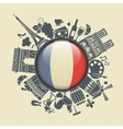 Symbol of France vector image vector image