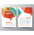 Abstract Poster Brochure Flyer Layout template vector image