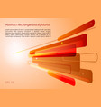 abstract red and orange background with vector image vector image