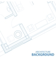 Background with blueprint vector image vector image