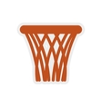 Basket icon Basketball design graphic vector image vector image