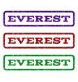 everest watermark stamp vector image