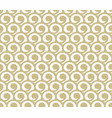 gold abstract pattern vector image vector image