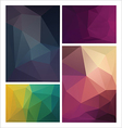 multicolored geometric pattern vector image