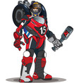 robot motor vector image vector image