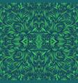 shamanic fractal mandala texture ethno style vector image