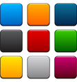 Square color icons vector image vector image