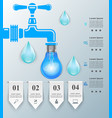 tap icon business infographics vector image vector image