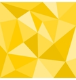 Triangle yellow background seamless sunny pattern vector image vector image