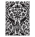 16th century weave design it consists a leaf vector image vector image