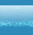 abstract gradient blue and white design vector image vector image
