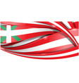 basque banner background flag flag vector image vector image
