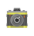 camera icon on a white background vector image vector image