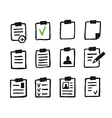 File an icon3 vector image vector image